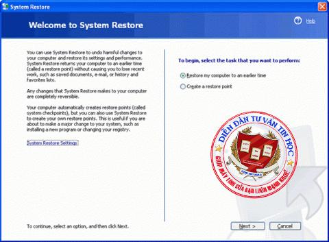 system_restore
