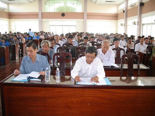 Toàn cảnh Hội nghị tổng kết năm học 2008-2009