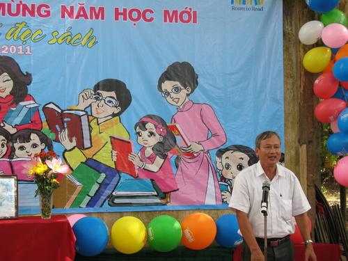 Ông Trần Văn Trí - Phó Giám đốc Sở Giáo dục và Đào tạo tỉnh Tiền Giang phát biểu chỉ đạo