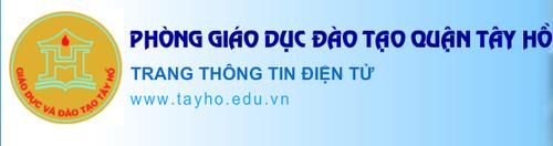Phong GD Tay Ho