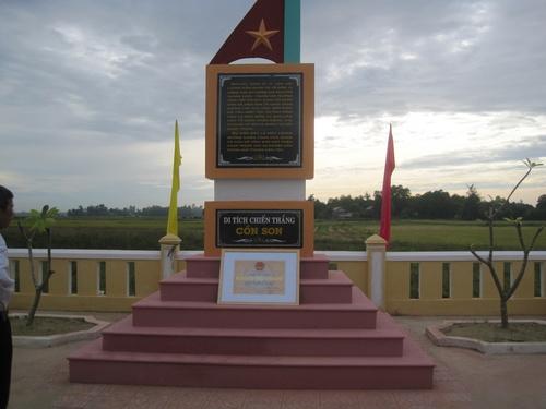 Di tích chiến thắng Cồn Son xã Vĩnh Sơn,VĩnhLinh,QuảngTrị