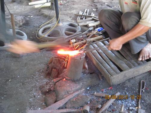 Sản phẩm học tập theo dự án : Làng rèn Hồng Lư