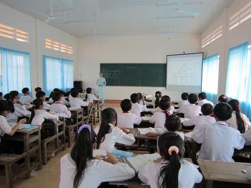 Ứng dụng công nghệ thông tin trong giảng dạy.