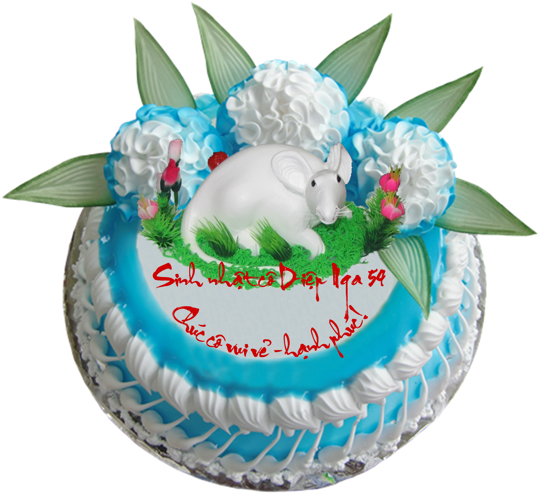 Bánh sinh nhật có bản quyền !