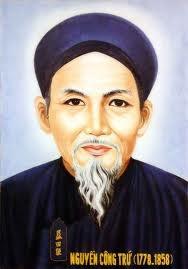 Kết quả hình ảnh cho tiểu sử Nguyễn Công Trứ
