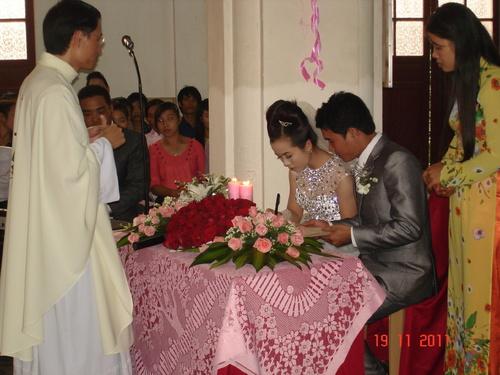 Người làm chứng trong cử hành Nghi thức hôn nhân